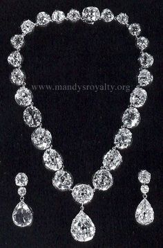 """The Ruffington Diamonds"" - Queen Victoria's Colette Necklace."