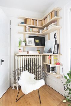 Radiator Shelf Space.
