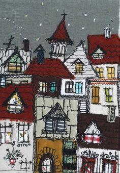 Freehand machine embroidery - Marieta Stefanova
