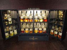 Guerlain Perfume Organ Vintage Very Rare Display Dramming Bottles Cologne 1990s #Guerlain