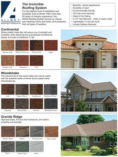 Good Allmet Roofing Products Offers A Variety Of Styles And Colors For Your Next  Roof. Visit
