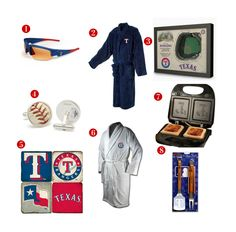 8 Great Father's Day Gift ideas for the avid Texas Rangers Fan! See all of our Tangers gifts at http://www.topnotchgiftshop.com/texas-rangers.html