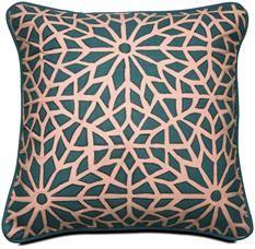 Moderneja tyynyjä, erilaisia kuvioita BoConcept
