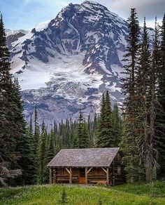 The Cabin Chronicles — Location, Location, Location. Lake Cabins, Cabins And Cottages, Small Cabins, Cabana, Little Cabin, Log Cabin Homes, Seen, Cozy Cabin, Mountain Landscape