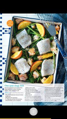 One pan zingy fish