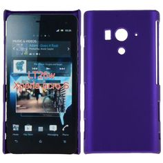 Hard Shell (Lilla) Sony Xperia Acro S Deksel