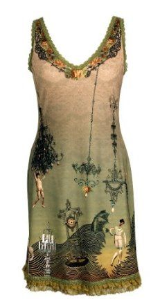 Admirable V-Neck Sleeveless Mini Dress by Michal Negrin Made of Stretch Lycra, Swarovski Crystals Accented Artistic Pattern and Double-Layered Ruffled Lace Trim at Hemline,$585.00