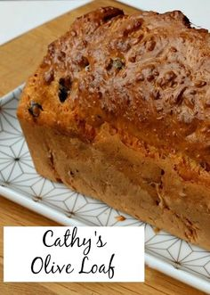 This savoury loaf is typically French and super delicious. It's easy to make, just add your favourite ingredients!