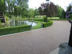 200m of RonaDeck Resin Bound Surfacing Brittany Bronze 10mm aggregate