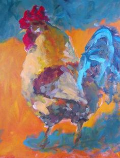 "I added ""Susan Elizabeth Jones, artist"" to an #inlinkz linkup!http://www.charmofthecarolines.com/postcards_from_the_dimple/2015/09/funky-chickens.html"