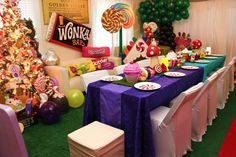 Willy Wonka & Candyland Birthday Party Ideas | Photo 5 of 41 | Catch My Party