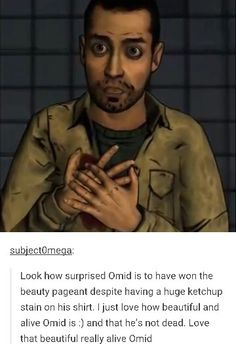 Omid is fine, guys...<<I WILL KILL YOU ALL
