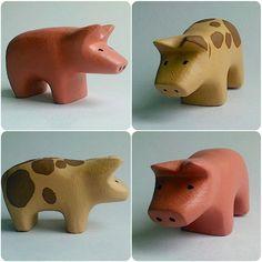 b for Bjørn: Pigs