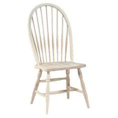 International Concepts Tall Windsor Side Chair & Reviews | Wayfair