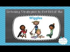 Check out this fun, FREE Music Video for teaching your students how to sit in group time.  Did You Ever Have the Wiggles