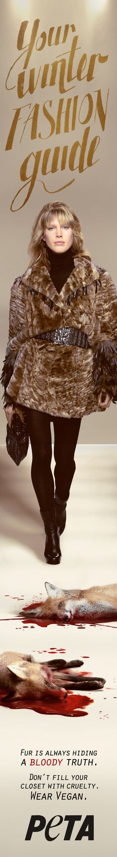 Stay warm and fashionable this winter with a luxurious second skin of fur. Complete the 'second skin' look with leather accents and an oversized snake skin belt with a sterling silver buckle. #NYFW #NewYorkFashionWeek #Fashion #FashionWeek #Trend #Winter #Fur #FurCoat fervent-adepte-de-la-mode via Visual Hunt / CC BY 2.0 (https://www.flickr.com/photos/51528537@N08/8528544772/)
