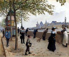 Le Prince Lointain: Jean Béraud (1849-1936), Le Pont Neuf.