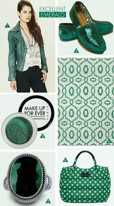 emerald // pantone's 2013 color of the year