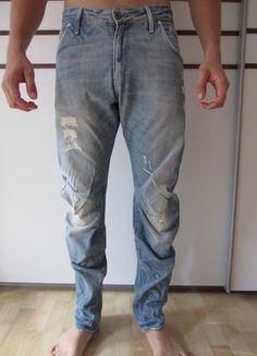 Kaufe meinen Artikel bei #Kleiderkreisel http://www.kleiderkreisel.de/herrenmode/jeans/107634748-lassige-g-star-jeans-blau-3034