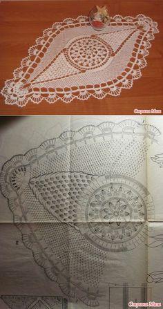 "Napkin crochet ""Rook""...♥ Deniz ♥"