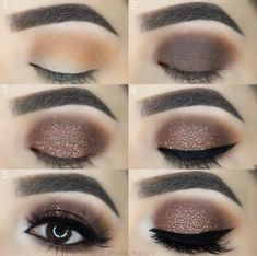 In order to enhance your eyes and also improve your good looks, finding the very best eye make-up techniques can help. You'll want to make sure to put on make-up that makes you start looking even more beautiful than you already are. Makeup Goals, Makeup Inspo, Makeup Inspiration, Makeup Tips, Makeup Ideas, Makeup Tutorials, Makeup Hacks, Eyeshadow Tutorials, Brown Smokey Eye Makeup Tutorial