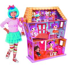 Get the Lalaloopsy Dollhouse for less at Walmart.com. Save money. Live better.