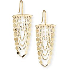 Lana Nude Cascade Earrings ($725) ❤ liked on Polyvore featuring jewelry, earrings, gold, jewelry earrings, drop earrings, chandelier earrings, 14 karat gold earrings, nude jewelry and 14k jewelry