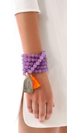 Bead Tassel Bracelet / Necklace