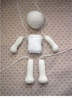 basic amigurumi doll pattern :) Grandma! What is amigurumi? http://voices.yahoo.com/what-amigurumi-2397267.html