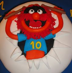 Muppet cake, I love this!