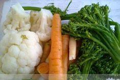 Dieta dr Ewy Dąbrowskiej - menu na 4 dni - ZAKRĘCONY WEGE OBIAD - wegański catering i blog Diet Recipes, Cooking Recipes, Atkins, Cauliflower, Sushi, Food And Drink, Health Fitness, Menu, Catering