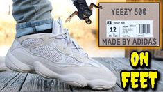 newest 8e29d 3abc2 ADIDAS YEEZY 500 DESERT RAT   BLUSH ON FEET REVIEW! Watch BEFORE You Buy!