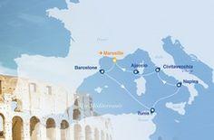 Croisière Gloria 2015. Une #croisiere en méditerranée avec Croisières de France