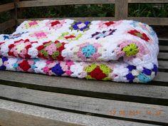pretty crochet blanket