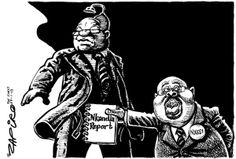 Zapiro: President Jacob Zuma and the Nkandla report - Mail & Guardian