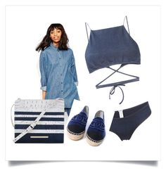 Designer Clothes, Shoes & Bags for Women Nautical Looks, Monki, Sailor, Chanel, Shoe Bag, Jeans, Polyvore, Shopping, Collection