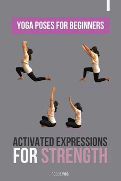 """Julie the Rogue Yogi educates you on Yoga Anatomy: Active vs Passive Stretching in poses. Who Defined the """"Fullest Expressions of Poses?"""" How do you add in true strength when getting into the pose? Read the blog to learn the different ways. #yogaposesforbeginners #yogaposes #yogaposesforbeginnersflexibility #yogaposesadvanced #yogaposesforbackpain"""