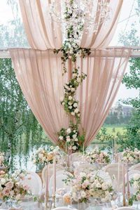 The Biggest Wedding Trends 2019 ❤️ wedding trends 2019 outdoor reception under dusty pink tent decorated with roses and greenery roman_ivanov_weddings weddingforward wedding bride weddingdecor 863213453557829952 Top Wedding Trends, Wedding Themes, Wedding Tips, Wedding Decorations, Decor Wedding, Wedding Planning, Wedding Garlands, Wedding Lighting, Event Lighting