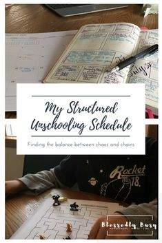 My Structured Unschooling Schedule