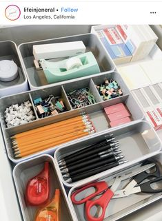 20 Easy And Cheap DIY Home Office Organization Ideas 20 Easy And Cheap DIY Home Office Organization Ideas JoinMeToHeaven gauderanadine Design When it comes to an office organization nbsp hellip Room desk study Home Office Organization, Home Office Decor, Organization Hacks, Organizing Office Supplies, Stationary Organization, Organising, Office Supply Storage, Stationary Supplies, Organizing Life
