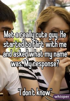 Whisper App.  Awkward Things That Happen When You're Terrible At Flirting