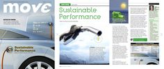 A cover and feature treatment for a story about states' promotions of sustainability initiatives. The story was killed. It was not sustainable.