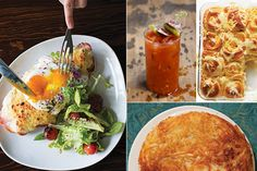 Obsessed and trying this out this weekend! Menu: A New Year's Day Brunch | SAVEUR