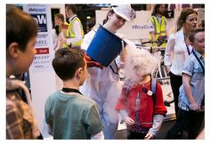 Mad Science West Midlands at the Big Bang Fair 2015 at the NEC Birmingham with Cool Science