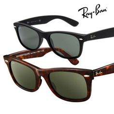 Ray-Ban Wayfarer Sunglasses - Your Choice of Color