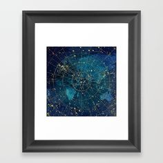 Star Map :: City Lights Framed Art Print by Jenny Lloyd: Pictures - Vector Black - City Maps, Vintage Pictures, City Lights, Wood Colors, Decoration, Framed Art Prints, Tapestry, Wall Art, Abstract
