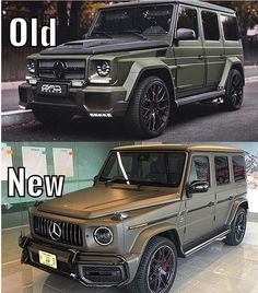 New or Old Mercedes-Benz G-Klasse _______ Mercedes G Wagon, Mercedes Benz G Class, Mercedes Benz Cars, Amg Car, Sports Car Wallpaper, Lux Cars, How To Get Followers, Jeep 4x4, Maybach
