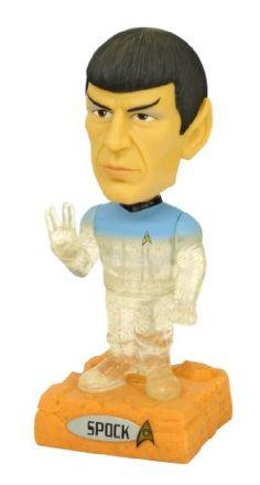 Funko Spock Talking Wacky Wobbler http://popvinyl.net #funko #funkopop #popvinyl