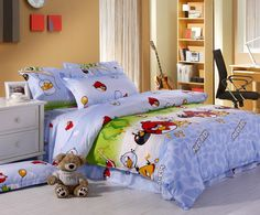 Angry Birds Blue Purple Angry Birds Bedding Set