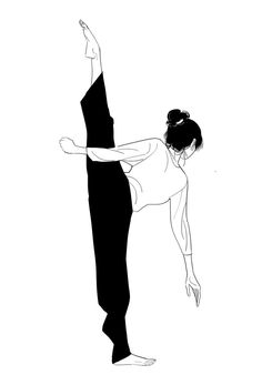ikkibaguni - leg stretch